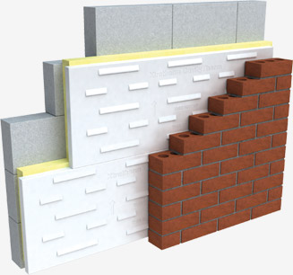 Cavity Insulation Up The Wall With The New Regs Build
