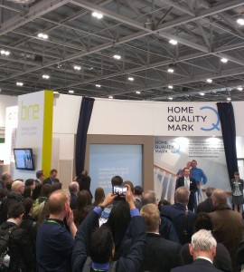 Home Quality Mark at Ecobuild 2015
