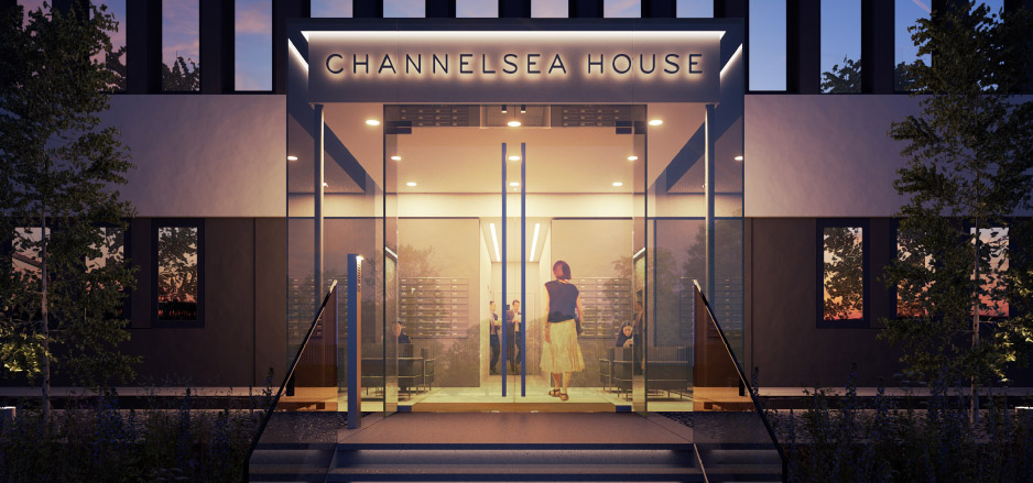 Channelsea House, Stratford